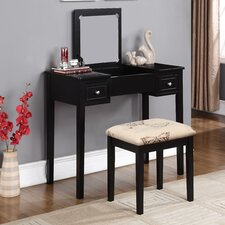 Gallaway 2 Piece Vanity Set with Mirror by Andover Mills®