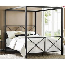 Symeon Canopy Customizable Bedroom Set by Bay Isle Home