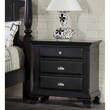 Fellsburg 3 Drawer Nightstand by Darby Home Co®