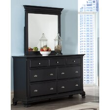 Fellsburg 7 Drawer Dresser with Mirror by Darby Home Co®