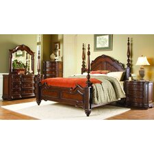 Drew Four Poster Customizable Bedroom Set by Astoria Grand