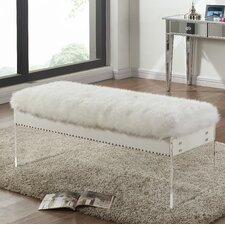 Jenny Upholstered Bedroom Bench by Meridian Furniture USA