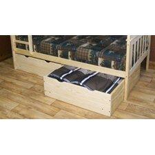 2 Piece Underbed Storage Drawer Set by A&L Furniture