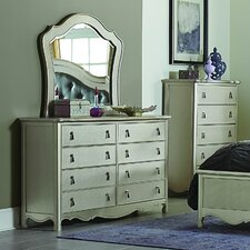 Barris 8 Drawer Dresser with Mirror by House of Hampton