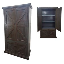 Rustic Double Door Armoire by American Heartland