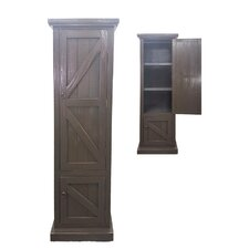 Rustic Single Door Armoire by American Heartland