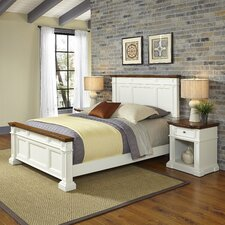 Collette Panel 3 Piece Bedroom Set by August Grove®
