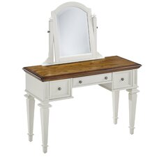 Collette Vanity with Mirror by August Grove®
