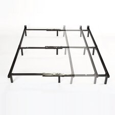 Adjustable Full to King Size Bed Frame by Rebrilliant