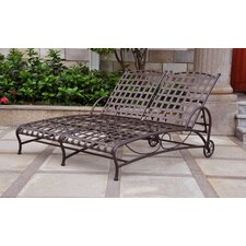 Schilling Double Patio Chaise Lounge by Alcott Hill®