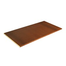 Shaker Optional Armoire Shelf by Grain Wood Furniture