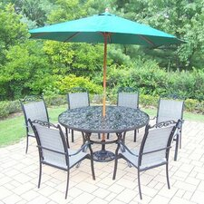 Basile 7 Piece Dining Set by August Grove®