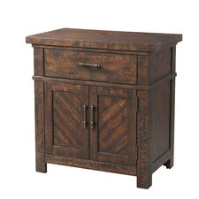 Dearing 1 Drawer Nightstand by Laurel Foundry Modern Farmhouse