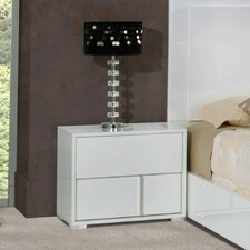 Lindell 2 Drawer Left Nightstand by Wade Logan®