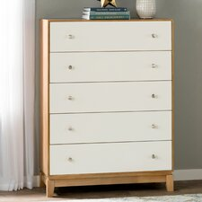 Hector 5 Drawer Chest by Mercury Row®