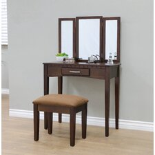 Sibilla Vanity Set with Mirror by Andover Mills®