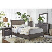 Pittsburg Sleigh Customizable Bedroom Set by Loon Peak®
