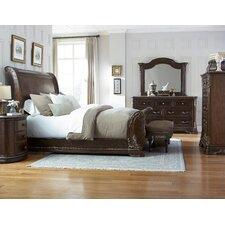 Hepburn Sleigh Customizable Bedroom Set by Astoria Grand