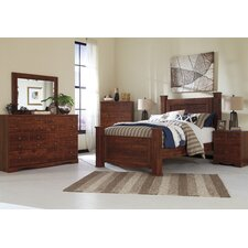 Attayac Panel Customizable Bedroom Set by Loon Peak®