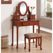 Jonas Vanity Set with Mirror by A&J Homes Studio
