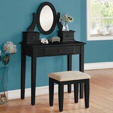 Jayle Vanity Set with Mirror by A&J Homes Studio