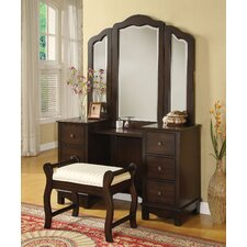 Annapolis Vanity Set with Mirror by A&J Homes Studio