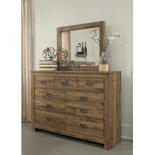 Gigi 7 Drawer Dresser with Mirror by Trent Austin Design®