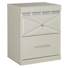 Melania 2 Drawer Night Stand by House of Hampton