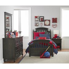 Hannah Sleigh Customizable Bedroom Set by Viv + Rae