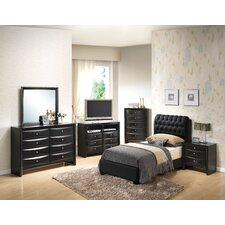 Leonis Panel Customizable Bedroom Set by Latitude Run