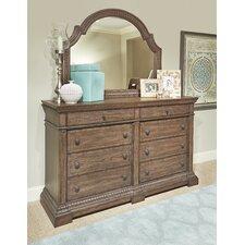 Macgregor 8 Drawer Dresser with Mirror by Rosalind Wheeler