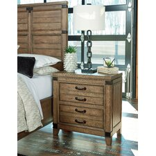 Brigadoon 2 Drawer Nightstand by Loon Peak®