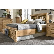 Brownwood Bookcase with Storage Panel Customizable Bedroom Set by Loon Peak®