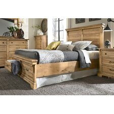 Brownwood Panel with Storage Customizable Bedroom Set by Loon Peak®
