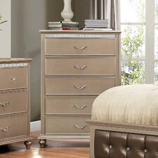 Magnifique 5 Drawer Chest by Simmons Casegoods by House of Hampton