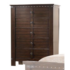 Brooklyn 5 Drawer Standard Chest by ACME Furniture