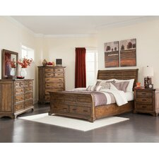 Pinole Sleigh Customizable Bedroom Set by Loon Peak®