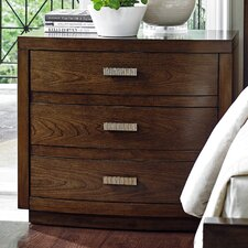 Laurel Canyon 3 Drawer Nightstand by Lexington