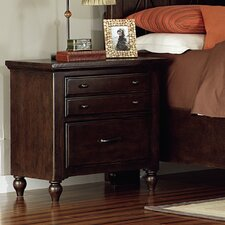 Butlerville 3 Drawer Nightstand by Alcott Hill®