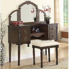 Ashton Vanity Set with Mirror by ACME Furniture