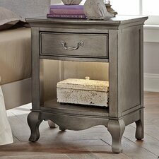 Donnie 1 Drawer Nightstand by Viv + Rae