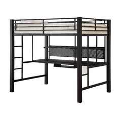 Rebecca Twin Workstation Loft Bed Box 2 of 2 by Viv + Rae Cheap