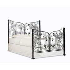 Elvis Presley Edition Gates of Graceland Bed Frame by Henson Metal Works