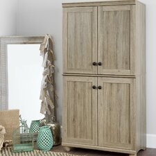 Hopedale 4 Door Storage Armoire by South Shore