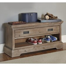 Heidi Wood Storage Bedroom Bench by Viv + Rae
