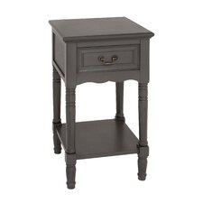 Lacordaire 1 Drawer Nightstand by August Grove®