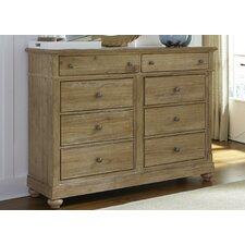 Rosie 8 Drawer Dresser by August Grove®