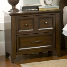 Mortemart 2 Drawer Nightstand by August Grove®