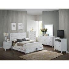 Brennen Storage Panel Customizable Bedroom Set by Latitude Run