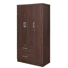 3 Drawer Wardrobe Armoire by Best Quality Furniture